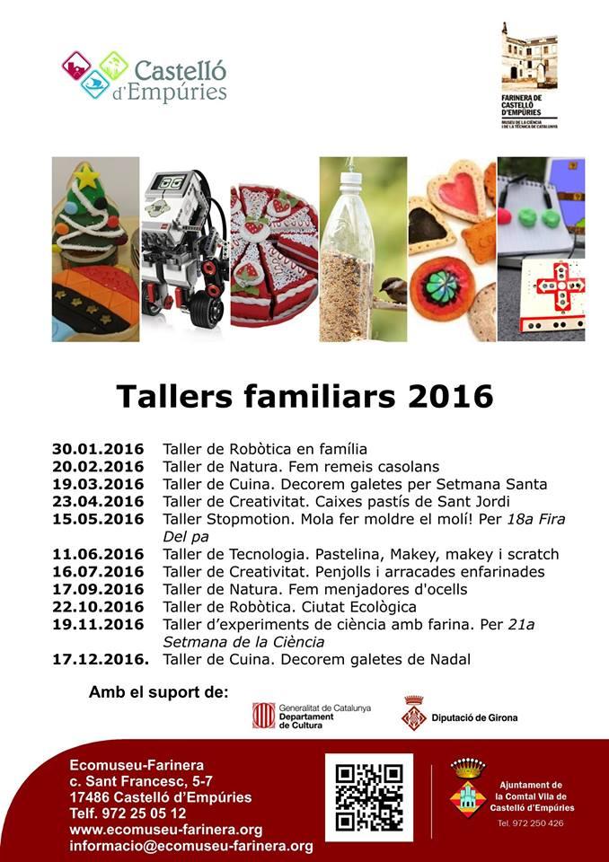 Tallers EcoMuseu Farinera Castelló