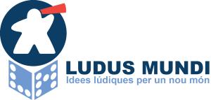 Ludus Mundi Logo Texte blanc