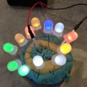 circuitos amb plastilina casera conductiva